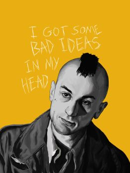 Taxi Driver - Travis Bickle by hisllagb