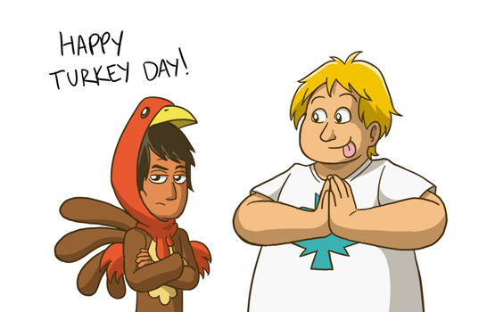 Happy Turkey Day! by ToonYoungster