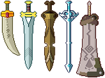 Breath of the Wild: Swords Set 2 by AsterianMonarch