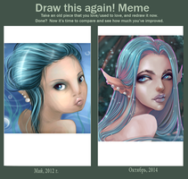 Draw this again) by ShuriCat
