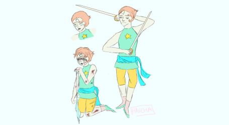 PEARL SKETCHES by Origamimacaron
