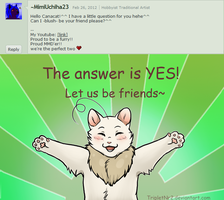Question 7 -CanaCat- by TripletNr2