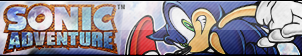 Sonic Adventure Button by ButtonsMaker