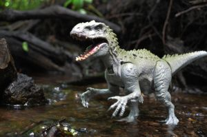 Indominus in the Water by CrazyAsylumClown