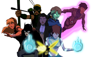 Girls of Young Justice by 1984neptune