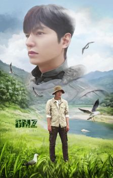DMZ, the Wild, Documentary film poster by Vilenchik