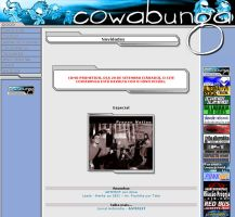 Cowabunga website by kohgoo