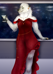 Lady in Red | Commission by Justt-K