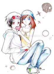 YuuHaru: Can you say sweet? by Casmailee