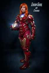 Marvel's Rescue / Iron Girl /  Iron Maiden by cyehra