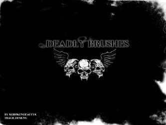 Deadly Brushes by xI3rokenI3eautyx
