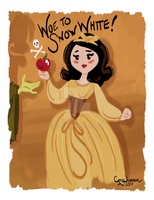 Woe to Snow White by Cor104