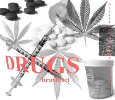 Drugs brushes by porcelainBRUSHES
