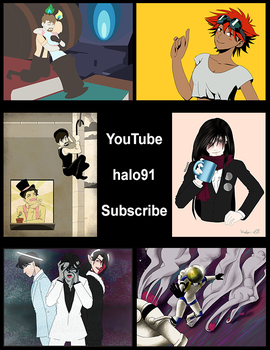 YouTube Subscribe to halo91 by halo91