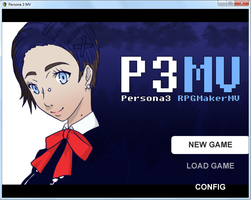 Persona 3 Fangame: Official Title Screen by Midnitez-REMIX