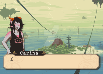 Carina Talksprite Animation by PinkSheDemon