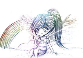 Rainbow Sketches by mochatchi