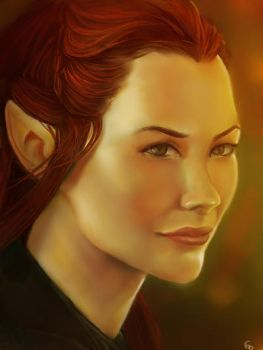Tauriel by YETI000