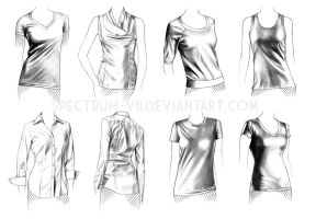 A study in women's casual by Spectrum-VII
