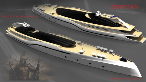 Super yacht Project Spartan3 by KingEagle