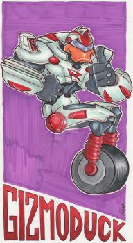 GizmoDuck original by IanDWalker