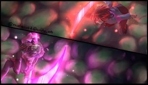 GlitchTale Betty vs Frisk by ColdheArts17
