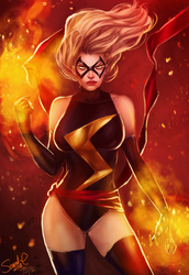 Ms. Marvel by Forty-Fathoms