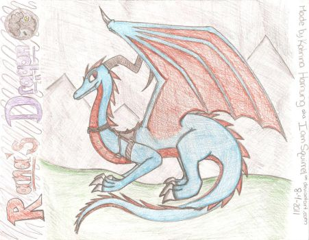 Laurana's Dragon by IamSquirrel