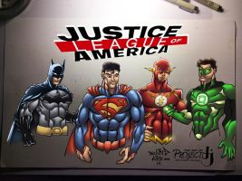 Justice League of America by ArtOfTDJ