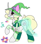 Floral Pony Witch Adopt Closed by SpaazleDazzle