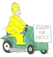 Jigglin' For Justice by TheSimpsonsFanGirl