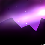 vidio paint to sai galaxy background by dark candy 0980 on