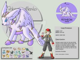 Fetheon by Pokemon-Mento