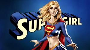 Supergirl on Supergirl wallpaper by Curtdawg53