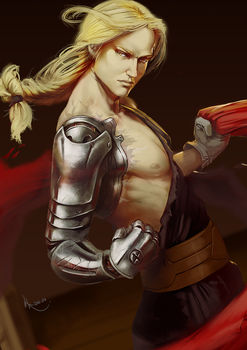 Edward Elric by SourAcid