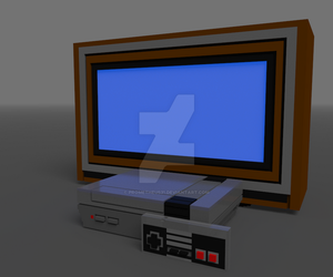 WIP NES TV by prometheus31