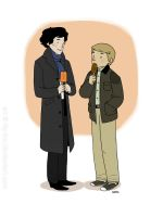 Sherlock's first popsicle by lily-fox