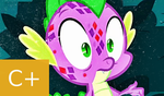MLP FiM: S8 E11: Spike Grows WINGS Review by Cuddlepug