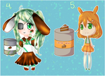 [CLOSED] [RAFFLE] Easter Sopapy Adopts by minteali