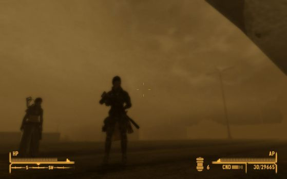 New Vegas Sandstorm by TheFrogPrince