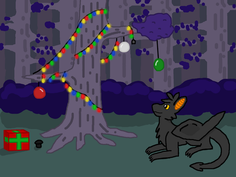 Merry (Early) Christmas! by DeviantDragonclaw
