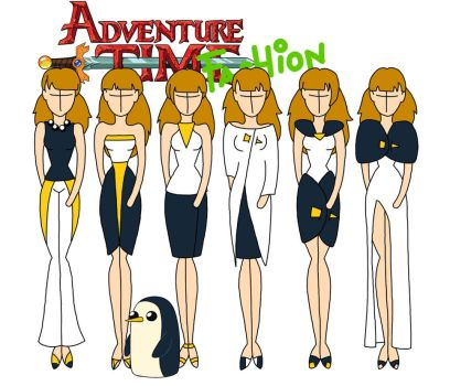 Adventure time fashion: Gunter by Willemijn1991