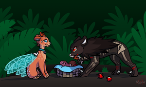 Lost Treasure Part3 - He doesn't like fruits! by Stygma