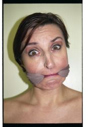 pantyhose in her mouth by eppictures