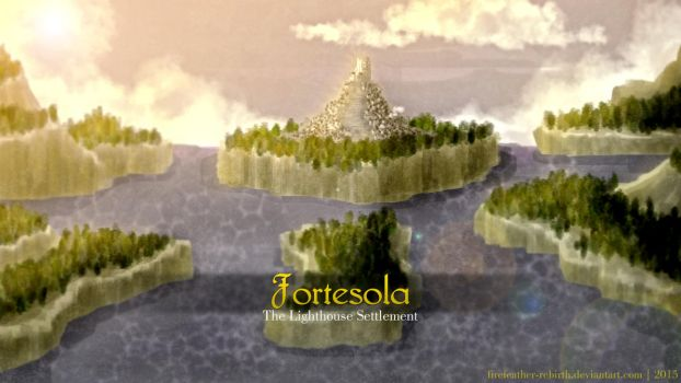 Fortesola - The Lighthouse Settlement by FireFeather-Rebirth