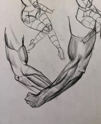 Forearm practice Mar 6, 2017 by ventimocha
