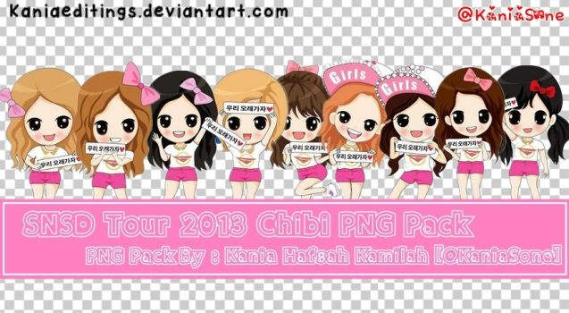 SNSD Chibi Tour 2013 PNG Pack By Me by KaniaEditings