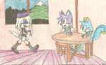 AT: winter friends by Giga-the-dog