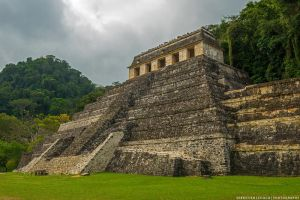 Mexico | Temple of inscriptions by lux69aeterna