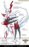 Pokedex 335 - Zangoose FR